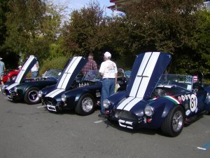 Ford racing Cobras