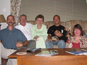 Bob, Al, Pat, Renzo, Francesco and me