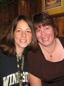 Teena and I - November, 2009