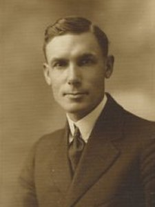 Frank Wight Sr. on his wedding day