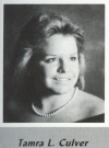 Tammy Culver's graduation photo - HHS 1987