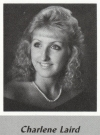 Charlene Laird's graduation photo - HHS 1987