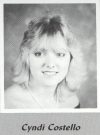 Cyndi Costello's graduation photo - MVHS 1987