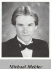 Mike Mehler's graduation photo - HHS 1987