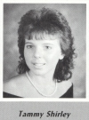 Tammy Shirley's graduation photo - HHS 1987