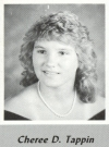 Cheree Tappin's graduation photo - HHS 1987