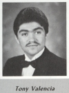 Tony Valencia's graduation photo - HHS 1987