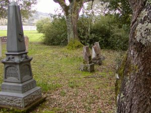 Melissa (Kendall) Ball's and Young Ichabod's headstones